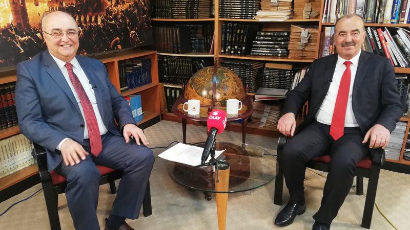Mudanya Belediye Başkanı Hayri Türkyılmaz, Ahmet Emin Yılmaz'ın sorularını yanıtladı