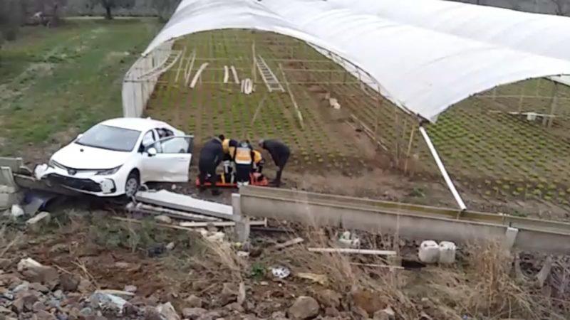 Bursa'da feci kaza! Ölümden döndü