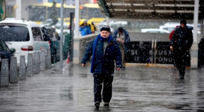 Bursa'ya kar uyarısı