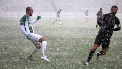 TFF 1.Lig'de maç yarıda kaldı…