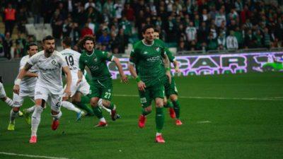 Bursa'da beraberlik golü geldi… Haydi Timsah zirve aşkına…