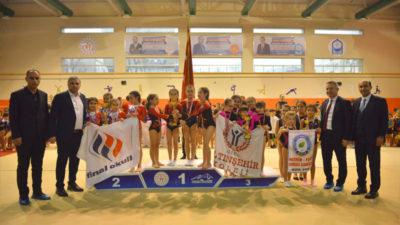 Naim Süleymanoğlu'nda artistik cimnastik müsabakası
