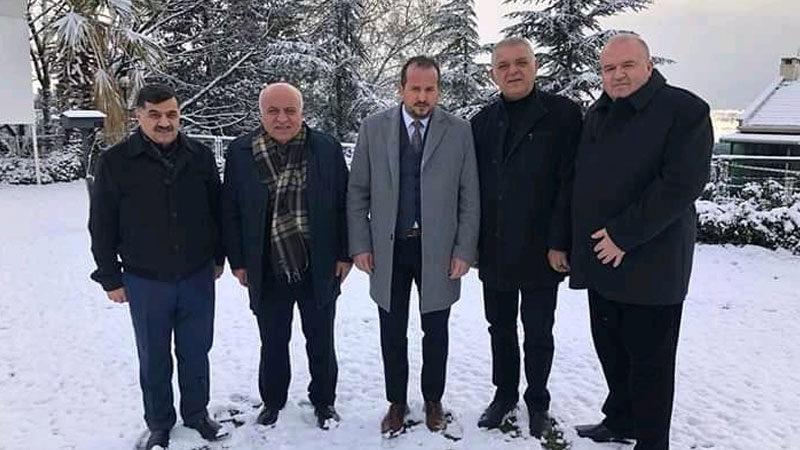 Milletvekili Refik Özen'den Bursa DİKOSAB'a tam destek