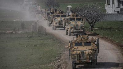 Komandolar Fetih Suresi eşliğinde sınıra gitti