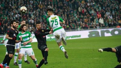 Bursasporlu futbolcular konuştu; Futbol şansı yanımızda değildi…