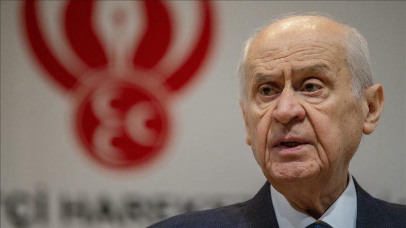 MHP Genel Başkanı Bahçeli: Türk devletinin duruşu Hak'tan yanadır