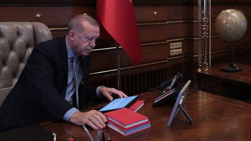 Cumhurbaşkanı Erdoğan depremle ilgili Bakan Soylu'dan bilgi aldı