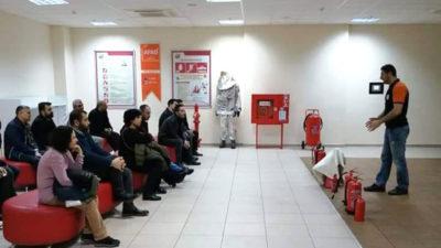 Yıldırım'da belediye personeline afet bilinci eğitimi