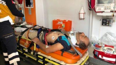 Bursa'da korkunç olay! 12 metreden düştü…