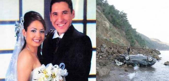Aracını uçuruma sürerek eşinin ölümüne neden olmuştu! Cezası belli oldu