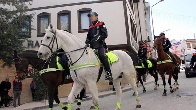 Bursa'ya atlı polisler geliyor! İşte görev yapacakları yerler…