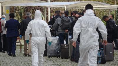 Yurtdışından gelen 63 kişi Bursa'da karantinaya alındı
