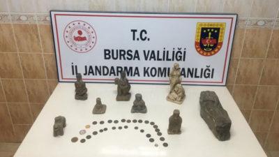 Bursa'da satacaklardı! Yakalandılar…