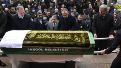 İnegöl Belediye Başkanvekili Ahmet Kara'ya son görev