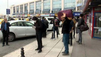 Otogarlarda son dakika yoğunluğu! '130 liralık bilet 250 lira olmuş'