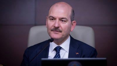 Bursa'da şehit düşen polis için Bakan Soylu'dan başsağlığı mesajı