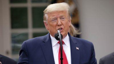 Trump duyurdu; 30 Nisan'a kadar…