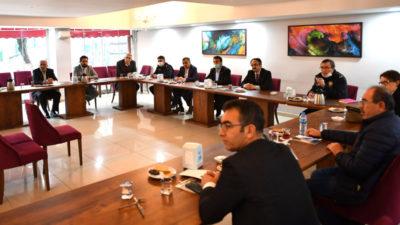Osmangazi'de 'Vefa Sosyal Destek Grubu' toplantısı