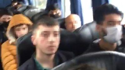 Bir otobüs yolcuya 'ihlal' cezası! Karantinaya alındılar