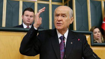 Bahçeli'den AB'ye 'Yunanistan' eleştirisi
