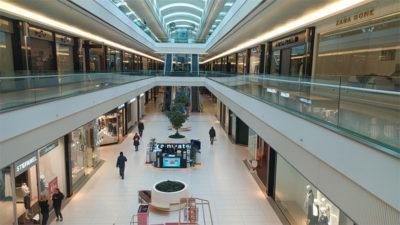 Mağazaların yüzde 90'ı kapandı, AVM'ler kapatmıyor