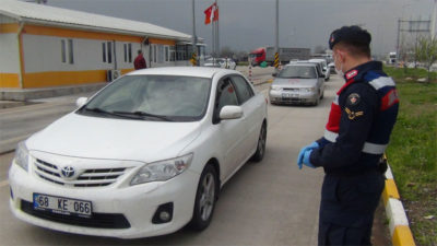 Bursa'da korona alarmı! Araçlar tek tek durduruluyor