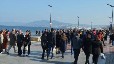 Bursalılar güzel havanın tadını çıkardı!