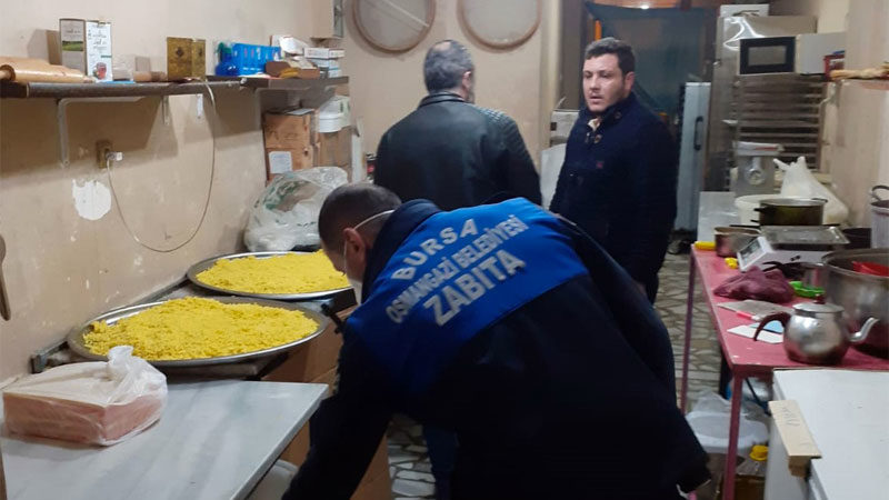 Osmangazi'de merdiven altı tatlıcıya baskın