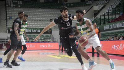 Timsah Beşiktaş'ı 98-87 yendi