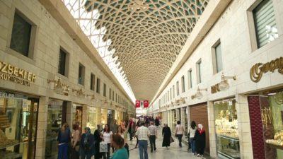 Bursa Kapalı Çarşı 6 Nisan'a kadar kilitli…
