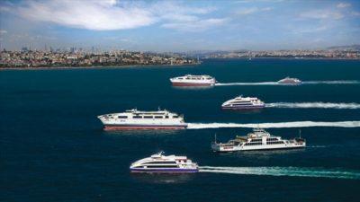 İstanbul'da deniz otobüsü ve feribot seferleri kararı