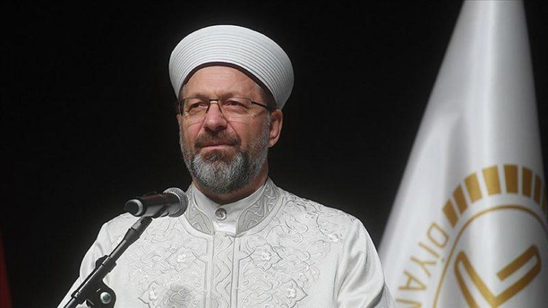 Ali Erbaş'tan flaş Kur'an kursu açıklaması