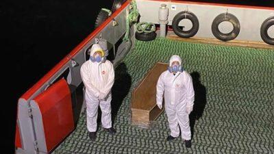 Gemi kaptanı koronavirüsten öldü! Gemi karantinaya alındı