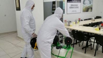 Huzurevinde üst düzey koronavirüs tedbirleri
