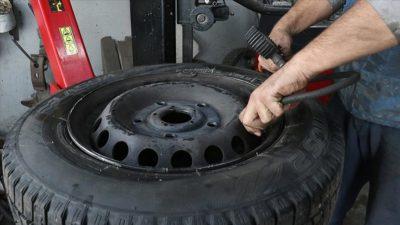 Kış lastiğini değiştirecekler dikkat!