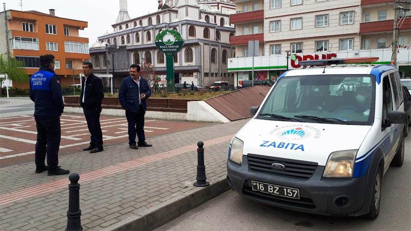 Bursa'da zabıtadan 'yaşlı' denetimi