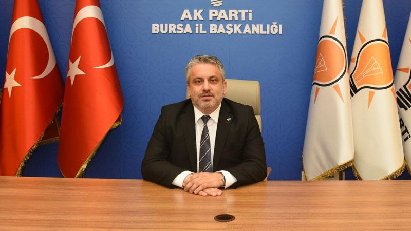 AK Parti Bursa'dan CHP'li Özkoç'a tepki