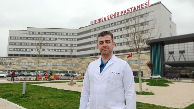 Bursa Şehir Hastanesi Başhekimi'nden koronavirüs açıklaması