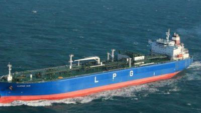 LPG ithalatı % 8,7 arttı