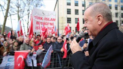 Erdoğan'dan Belçika'da önemli açıklamalar