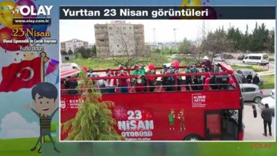 Yurttan 23 Nisan görüntüleri