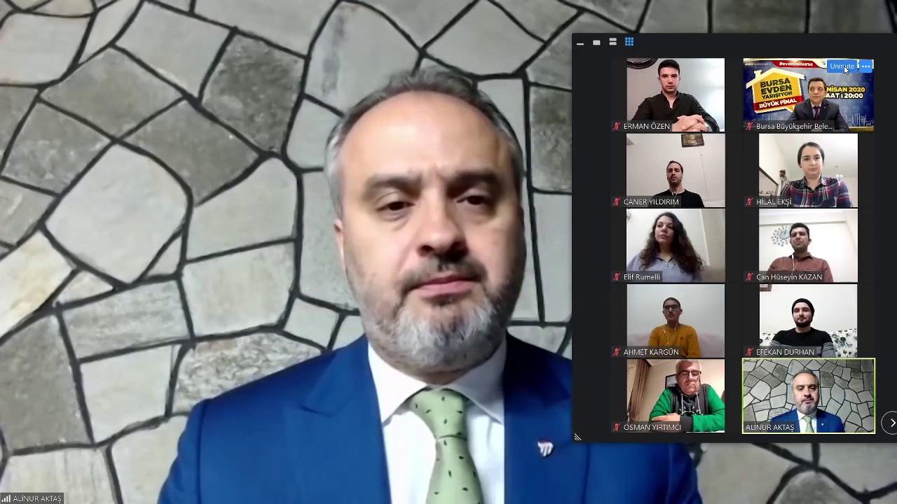 Bursa'daki yarışma 'evde kal' çağrısıyla son buldu