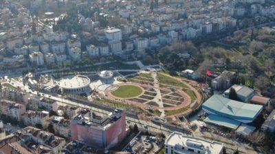 Millet Bahçesi yeşil Bursa'ya yakıştı