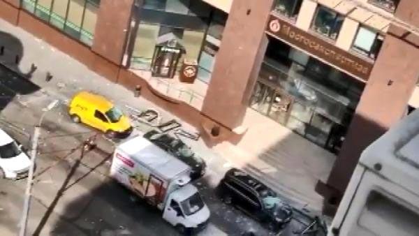 Rusya'da patlama meydana geldi