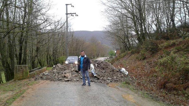 Bursalılar dikkat! O ile geçiş için kullanılan yol kapatıldı