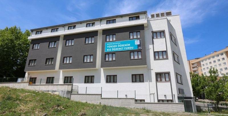 Nilüfer'de öğrenci yurdu sağlık çalışanlarına tahsis edildi
