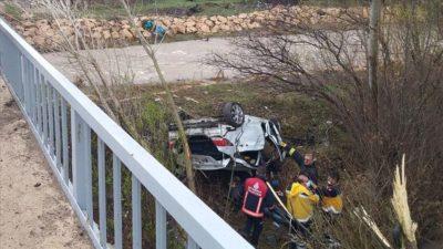 Sivas'ta otomobil devrildi: 4 ölü