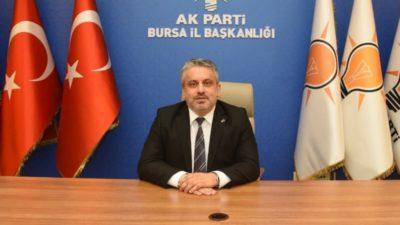 AK Parti Bursa'ndan Milli Dayanışma Kampanyası'na destek