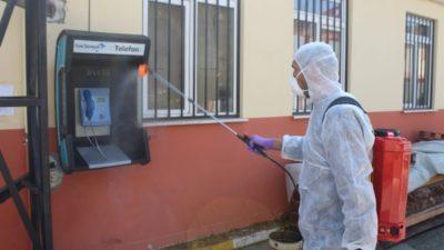 Bursa'da adliye ve cezaevlerinde koronavirüse karşı tedbirler alındı