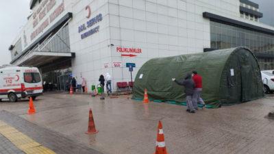 Bursa'daki hastanelerde başladı! Korona nedeniyle…